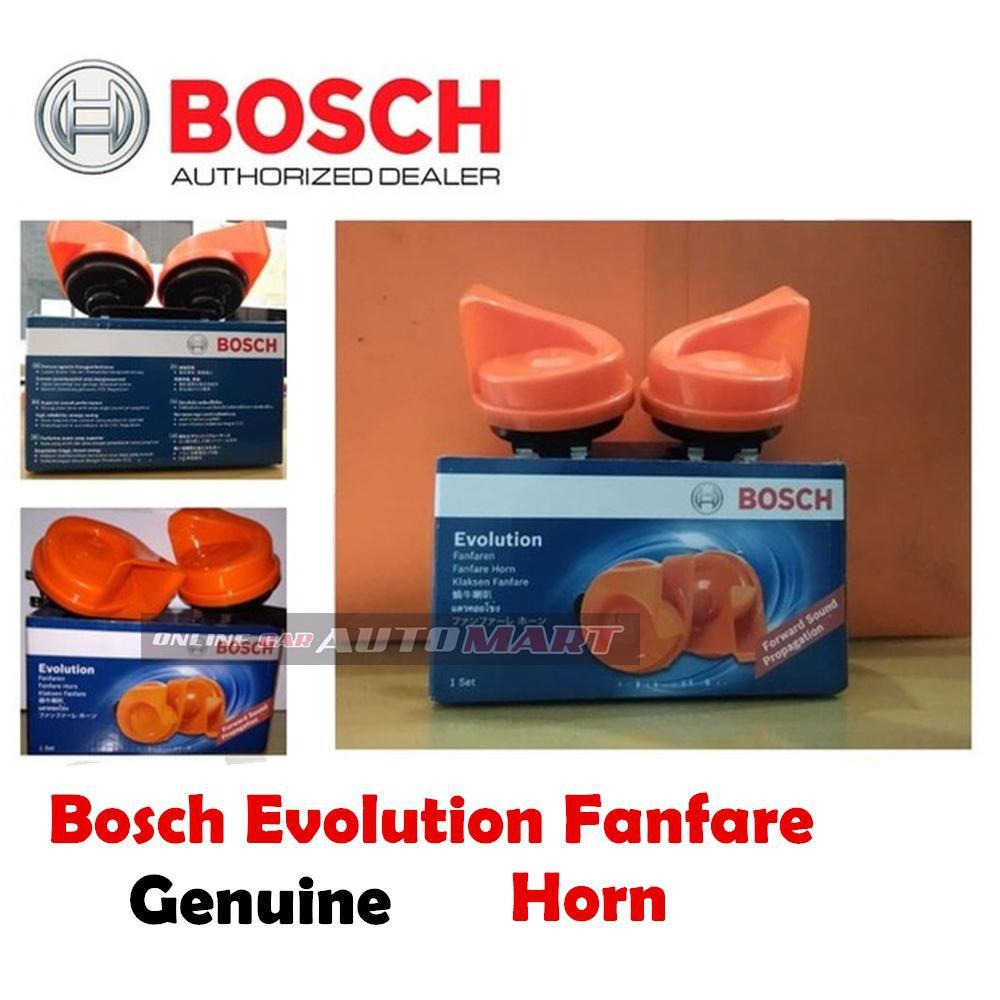 Bosch Evolution Fanfaren Horn Klaksen Fanfare Set For 2(Black)