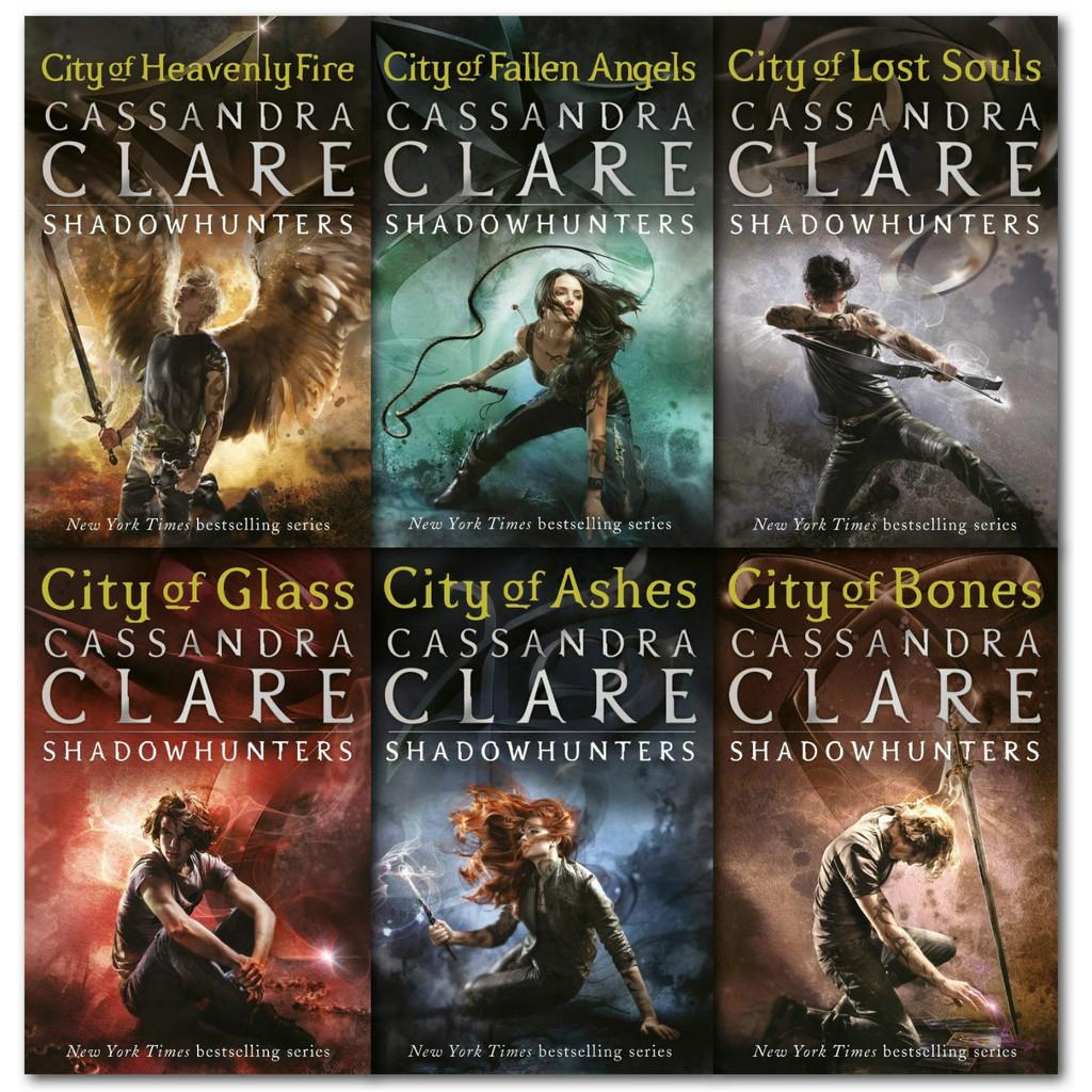 EBOOK Mortal Instruments (Shadowhunter) SET (1-6) Cassandra Clare english  fantasy