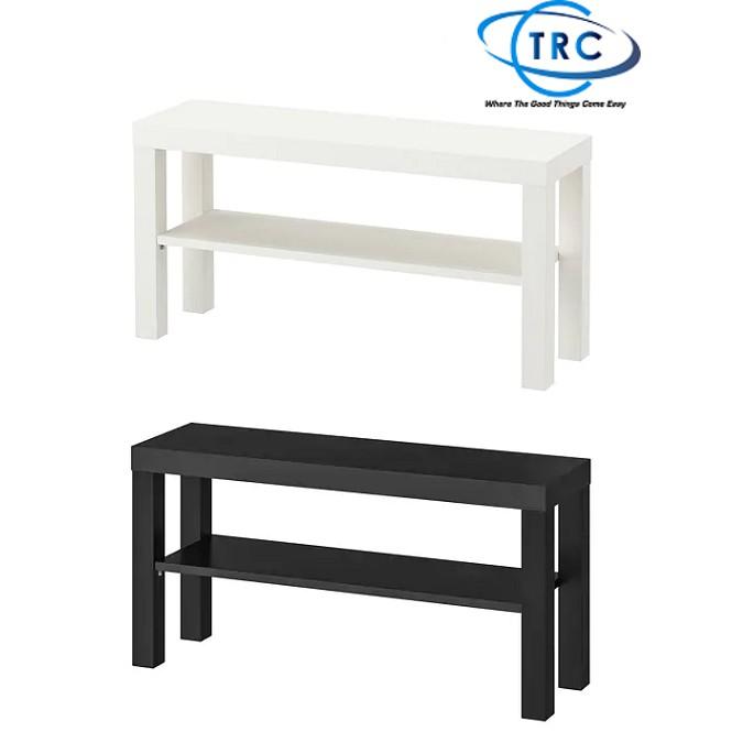 Fantastic Ready Stock Ikea Lack Tv Bench Rak Tv 90X26Cm Black White Alphanode Cool Chair Designs And Ideas Alphanodeonline