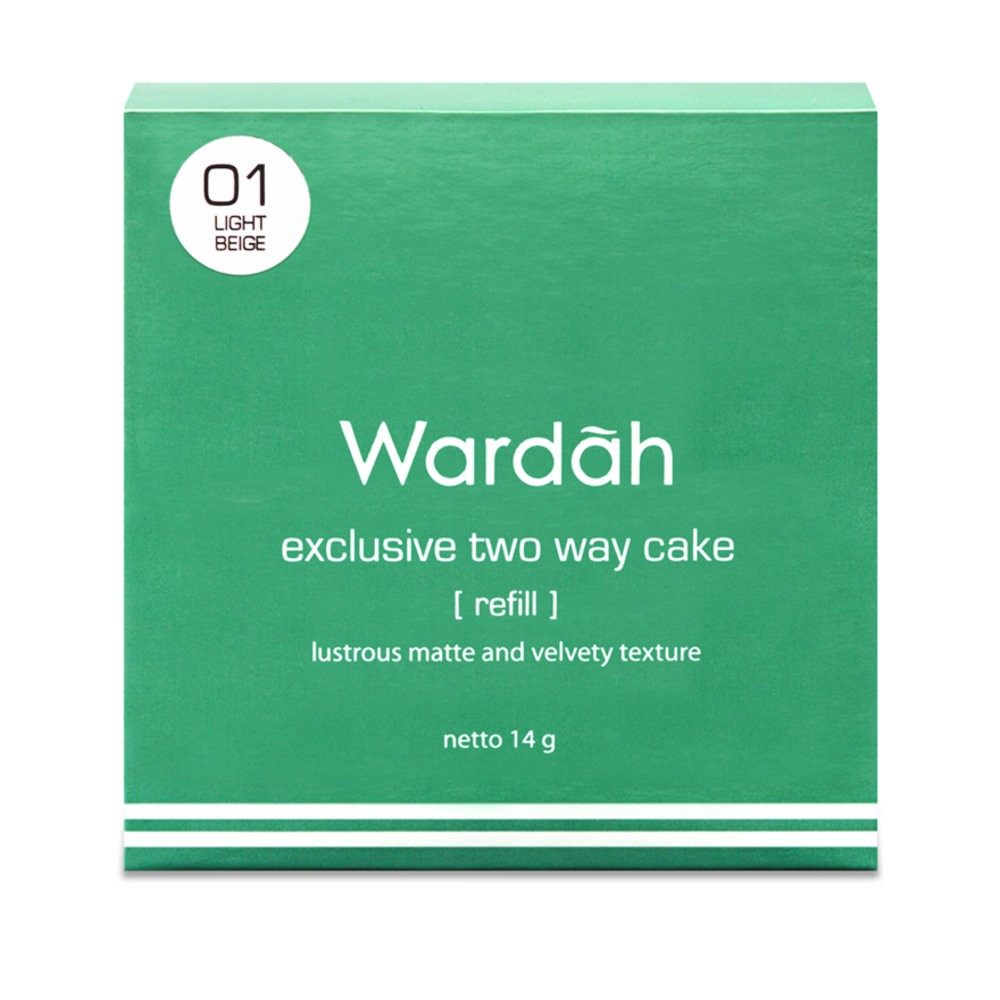 Wardah Exclusive Two Way Cake 05 Coffee Beige 1s Shopee Malaysia Maybelline Dream Satin 01 Light