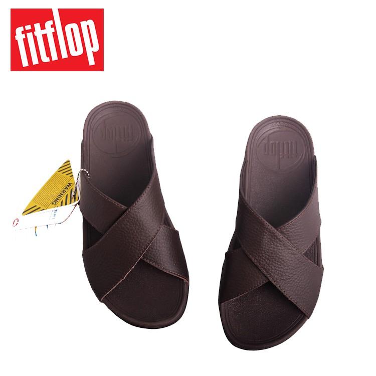 4bfa000acbd3 FitFlop LEXX male sandals (Black Brown)