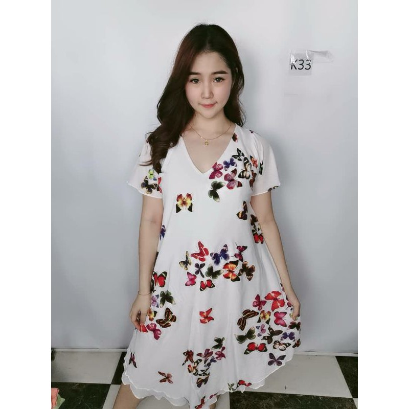 Cotton Butterfly Dress