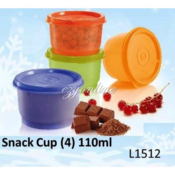 Tupperware Snack Cup (4) 110ml
