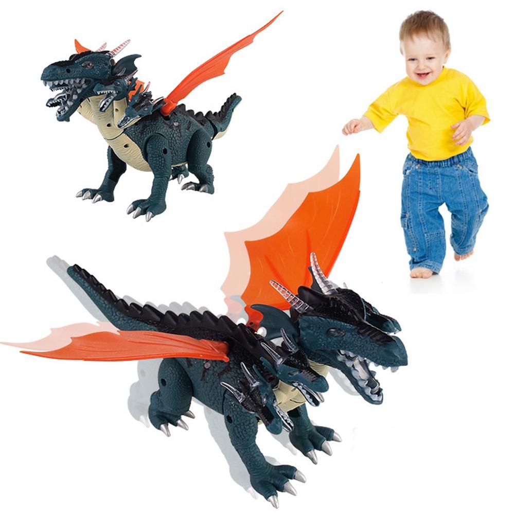 Electronic Dinosaur Pet Children's Toy - Evil Five Dinosaur Shaking Head