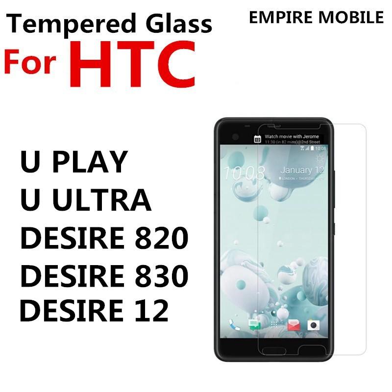 HTC DESIRE 12 820 830 U PLAY U ULTRA TEMPERED GLASS SCREEN PROTECTOR