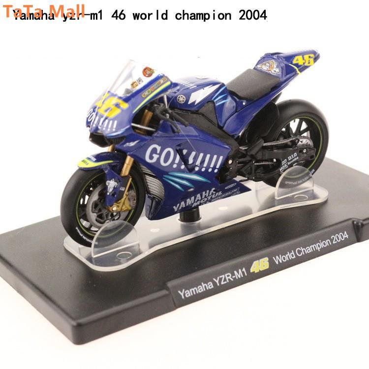 FTY Maisto 1:18 Yamaha YZR-M1 vr46 Rossi MotoGP 2016 Collection Model Bike   Shopee Malaysia