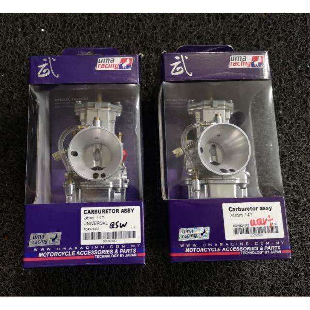 Uma Racing Carburetor Assy 24mm / 28mm / 30mm / 32mm / 32mm / 34mm