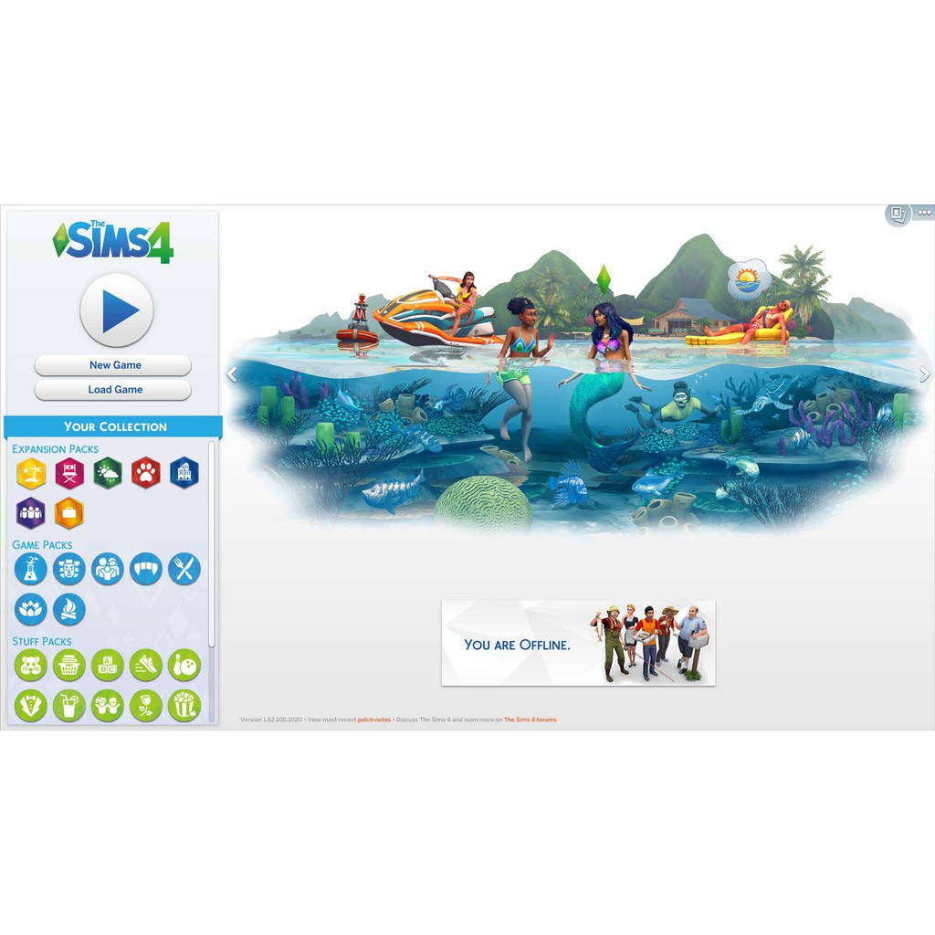 The Sims 4 All DLCs (Included Island Living) Offline PC Games with