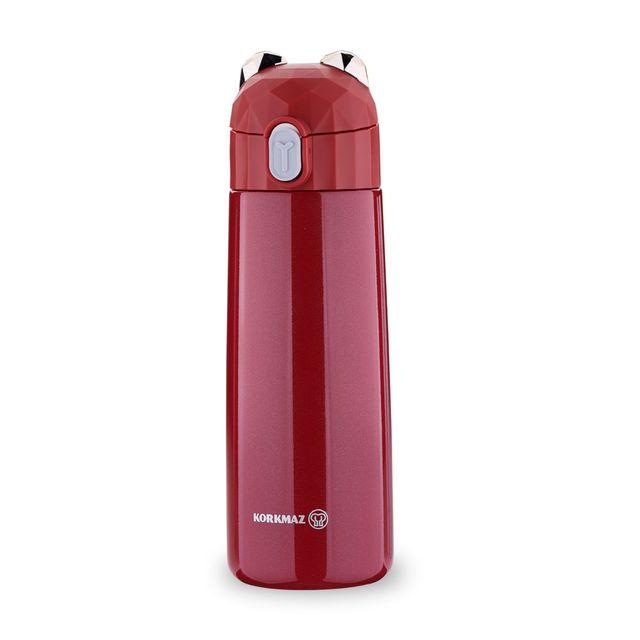 Korkmaz Bambino Plus Red 350 Ml Kid's Bottle A743-04