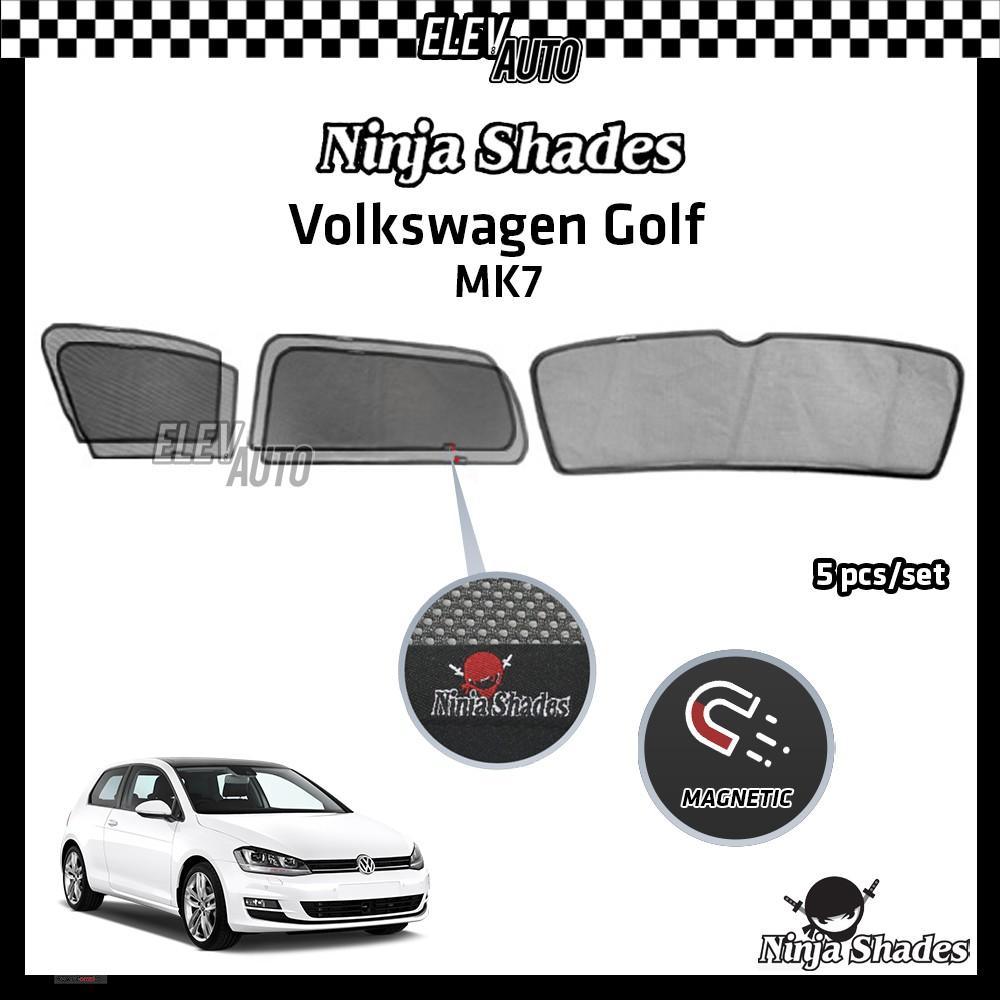 Volkswagen Golf MK7 Ninja Shades OEM Magnetic Sunshade
