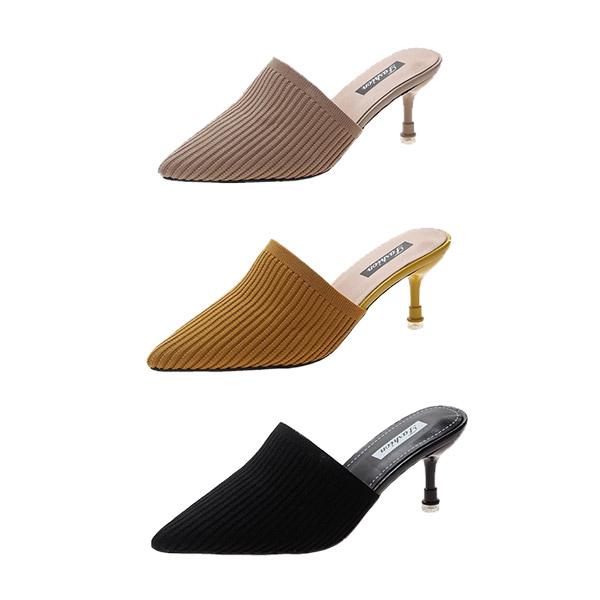 So so hi สวยหรู รองเท้าส้นสูงสไตล์เกาหลี [HA0018]