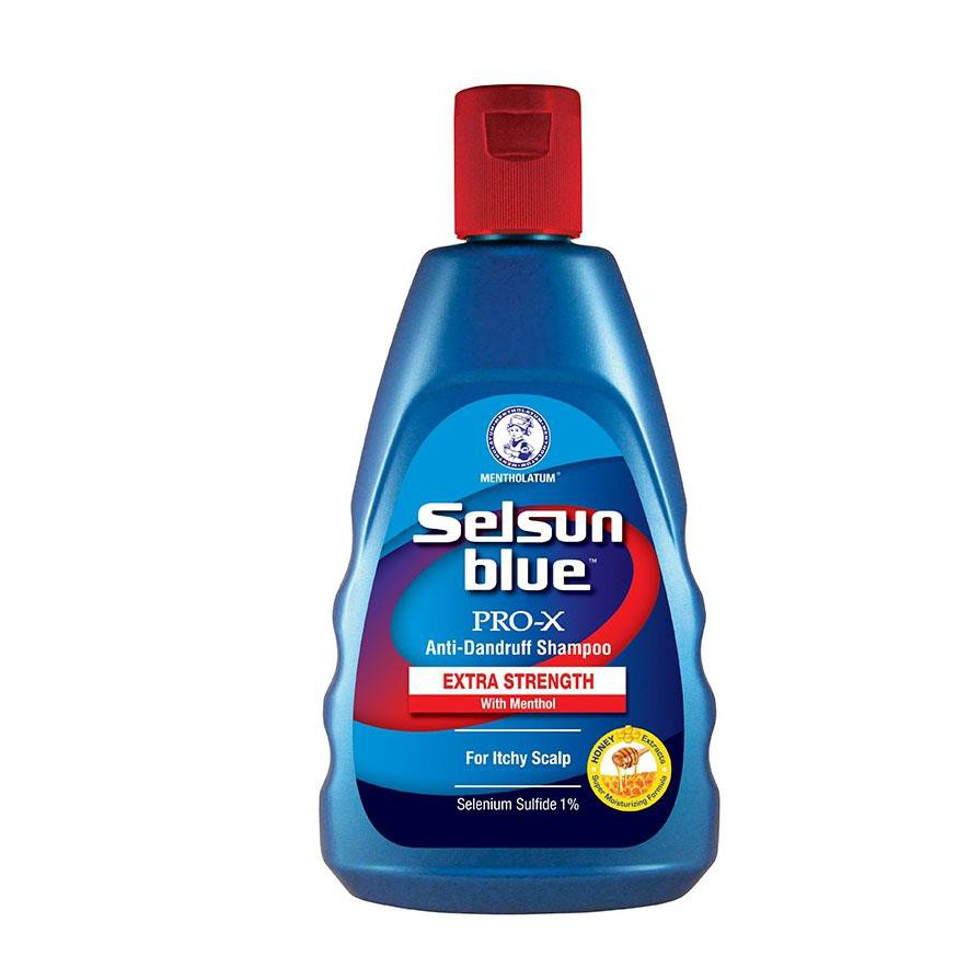 Selsun Blue Medicated Anti Dandruff Shampoo Kelumumur Extra Strength 120ml