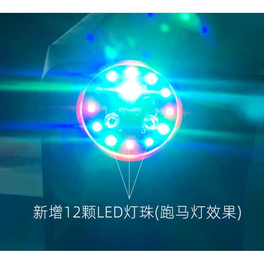 [NEW 2020] USB PORTABLE DISCO BALL RGB LED LIGHT MOBILE PHONE COMPATIBLE LIGHTNING MICRO USB TYPE C HOME PARTY MAGIC LED