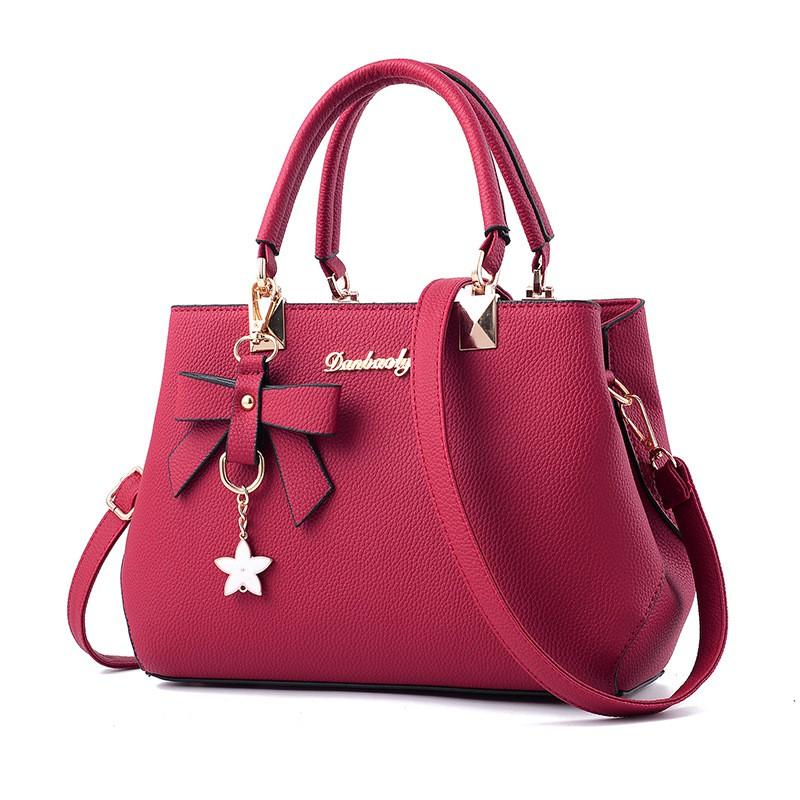 65ed6b16881 Newest fashion lady PU sling bag handbag shoulder bag