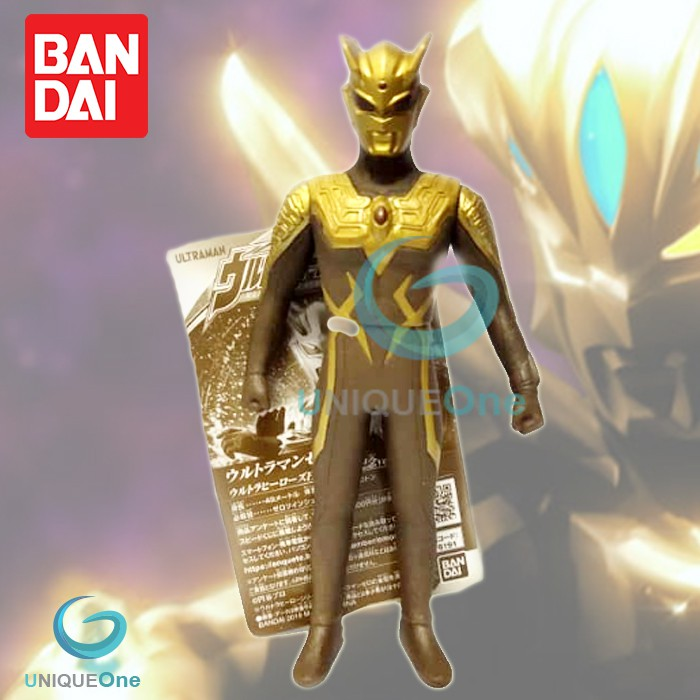 Bandai Ultra Heroes Expo 2019 Special Limited Gold Ultraman Zero PVC Figure