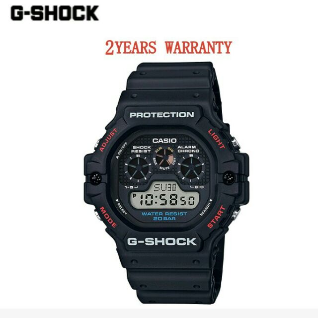 266a79926 CASIO GSHOCK [2YEARS WARRANTY] ORIGINAL DW-5900-1D MEN YOUTH DIGITAL ...