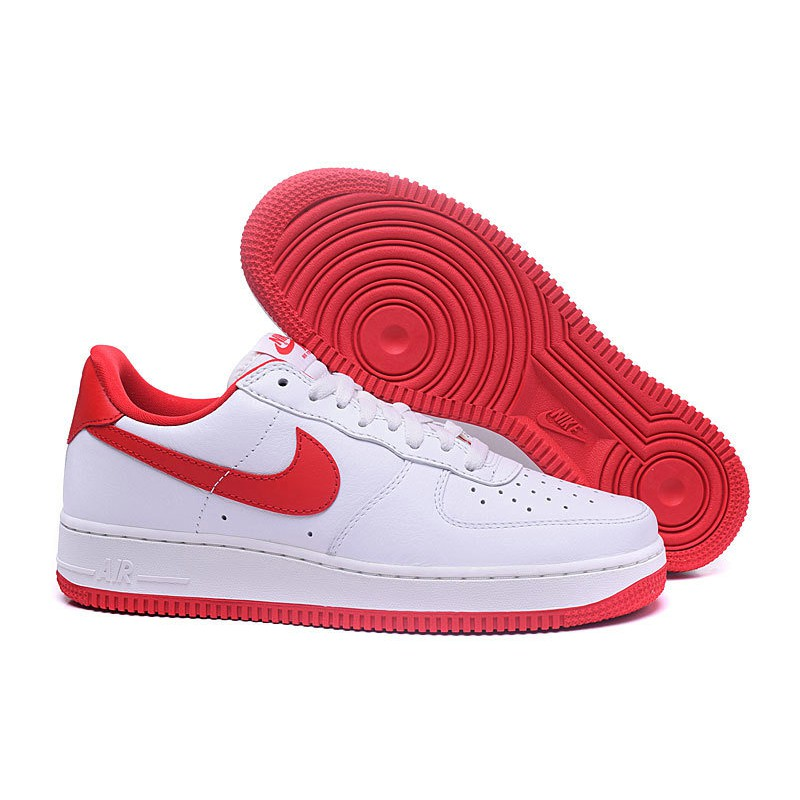 pretty nice 9c0e8 3a472 Nike Air Force 1 Low Fire Red White   Shopee Malaysia