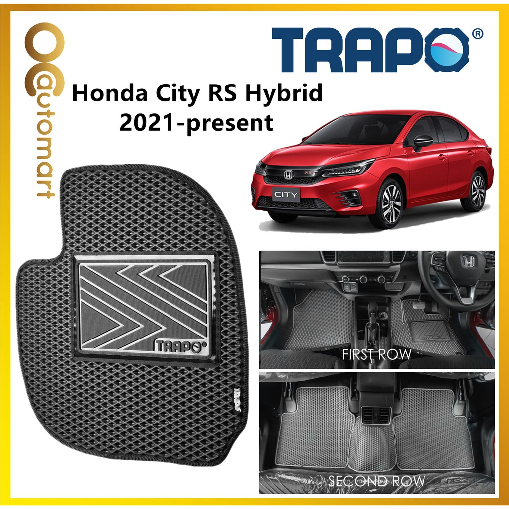 TRAPO Customize Car Floor Mat Honda City Hybrid RS 2021 - Present