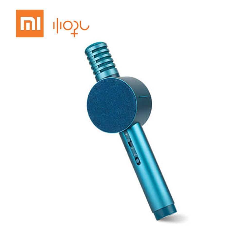 Xiao-mi Xiao-hou Moving-Coil Audio Microphone Acoustic Design Multi-Scenario Use Microphone Speaker Integration (Blue)