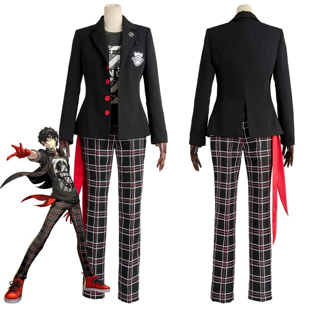 Persona 5 Dancing Star Night Joker Protagonist Akira Kurusu Hoodie Pullover