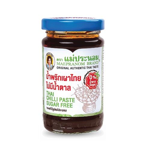 MAEPRANOM Sugar Free Series - Sweet Chili Sauce 260g / Chili Paste 114g HALAL by 365mart 365 Mart