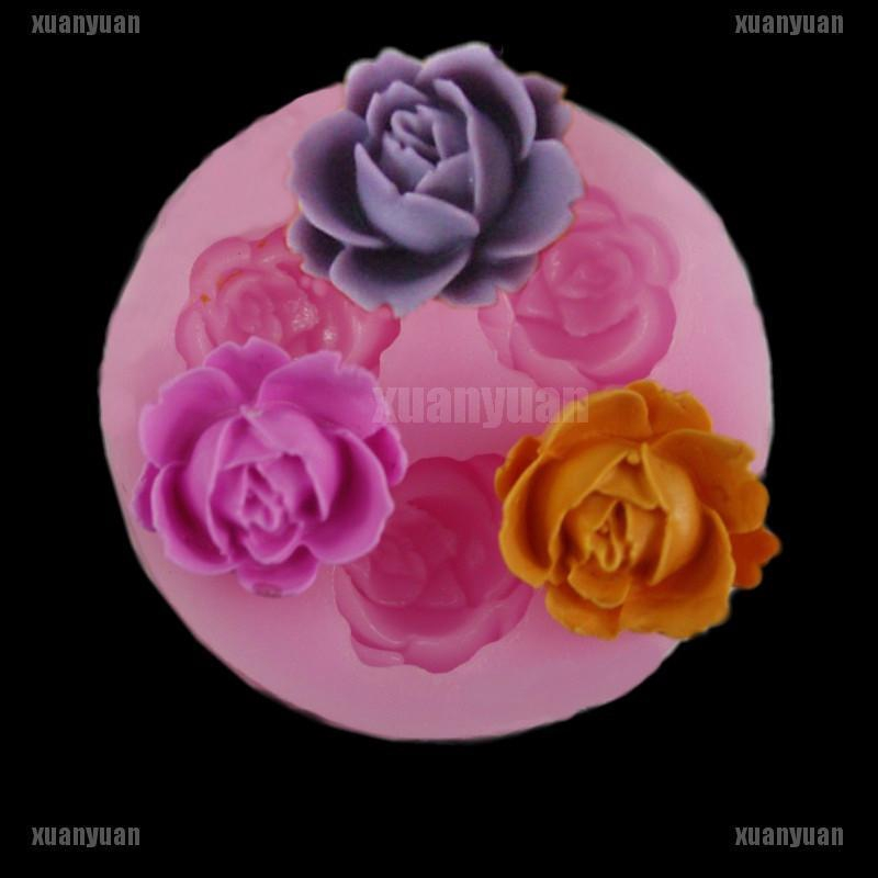 Branch Flower Vine Rose Silicone Mold /— DIY Fondant Cake Baking Mold