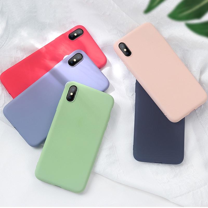 Casing Xiaomi Redmi Note 7/Note 7 Pro/ Redmi 7/6/6 Pro/6A/ Redmi go Case  Liquid Silicone Soft Cover