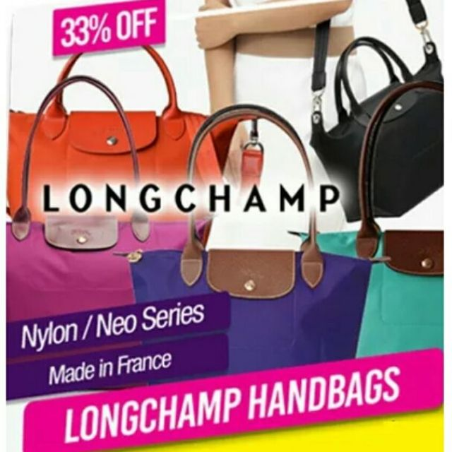 05cbbcdc2859 LONGCHAMP Le Pliage Neo Series short handle handbags shoulders bags(Red)1512 151