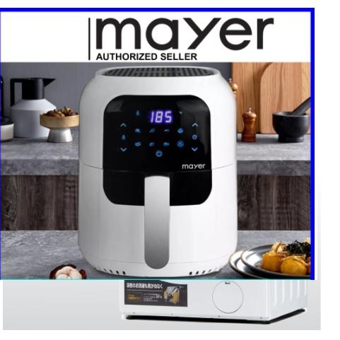 Mayer 5.5L Digital Air Fryer MMAF505D (White)