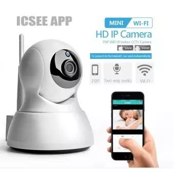 ICSEE APP HD 1080P Home Security IP Camera Two Way Audio Wireless Mini  Camera Night Vision CCTV WiFi Camera Baby Monitor