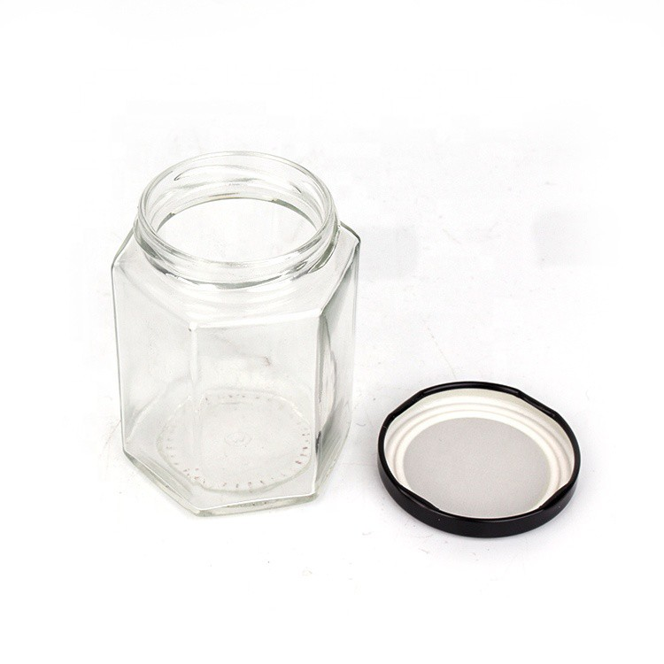 Air Tight Hexagon Glass Jar Mini Bottle Storage Container For Sweet Spices Door Gift | Botol Kaca | 迷你玻璃小罐子