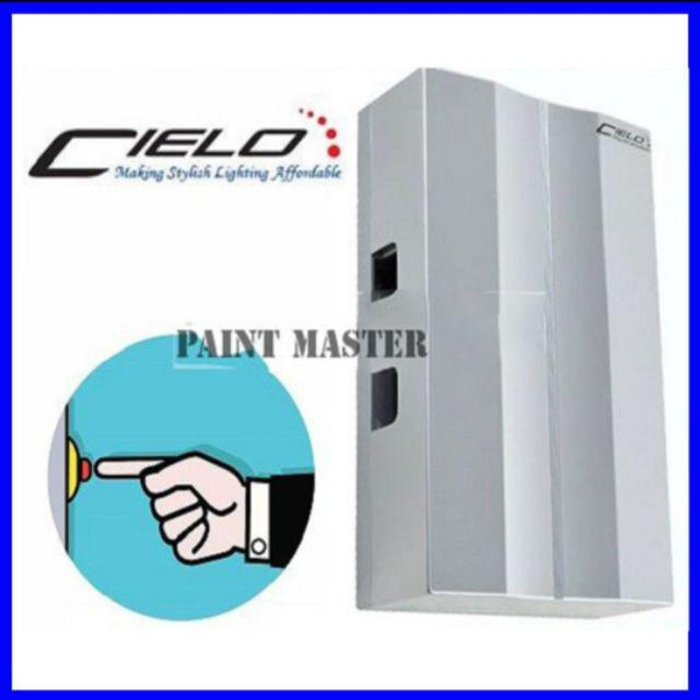 CIELO DC-888/CIE/SV Doorbell Mechanical Striking Wired Door Bell - Silver  Colour
