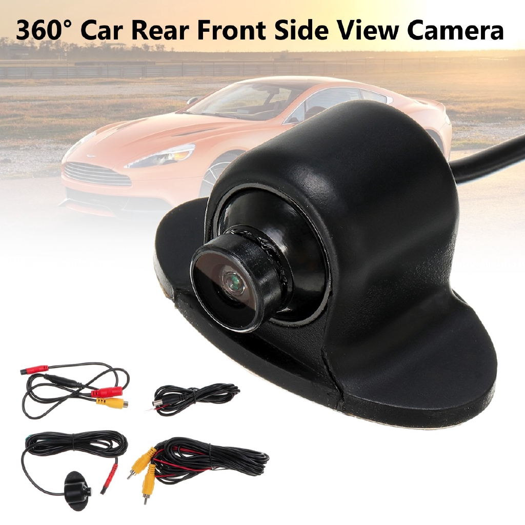 Camera Mini Car Front Side 120° View Parking IP67 Kit HD 360° Backup 480 TVL