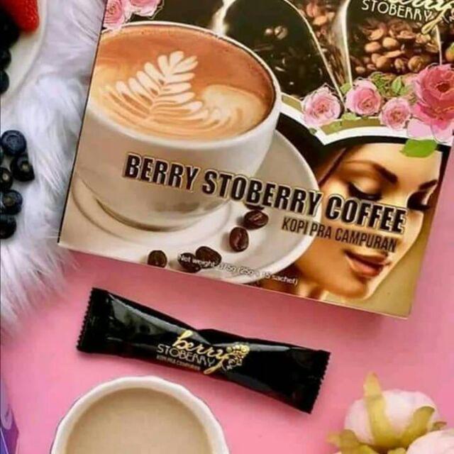 KOPI TURBO BY BERRY STOBERRY 2BOX 25G X 5SACHET 100% ORIGINAL HQ+FREEGIFT