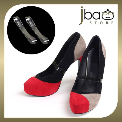 Invisible Dance Shoes High Heel Elastic Straps Slips-Ons