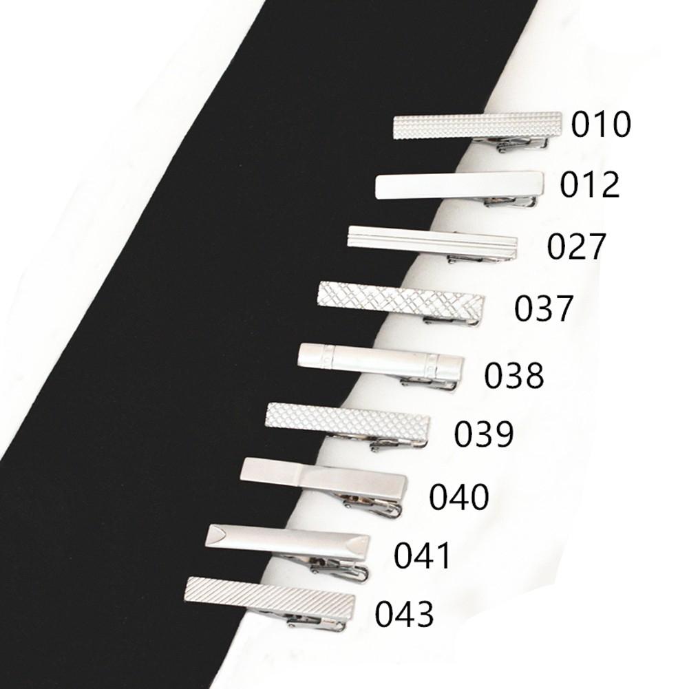 a1d4e97e543f ProductImage. ProductImage. Silver Men Metal Necktie Tie Bar Chrome Clamp  Plain Skinny ...