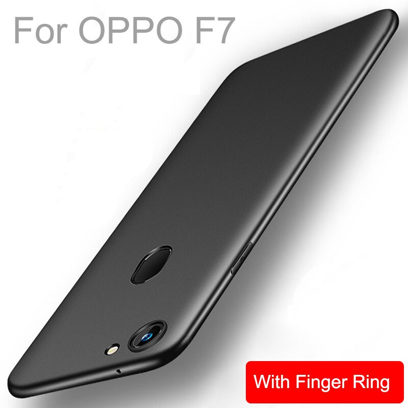 OPPO F7 Soft TPU Matte Silicone Shockproof Slim Protective Phone Back Case Cover | Shopee Malaysia