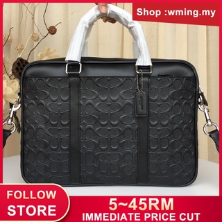 ac9d9565 original COACH briefcases and business bags 70901 LEATHER SLIM BRIEF ...
