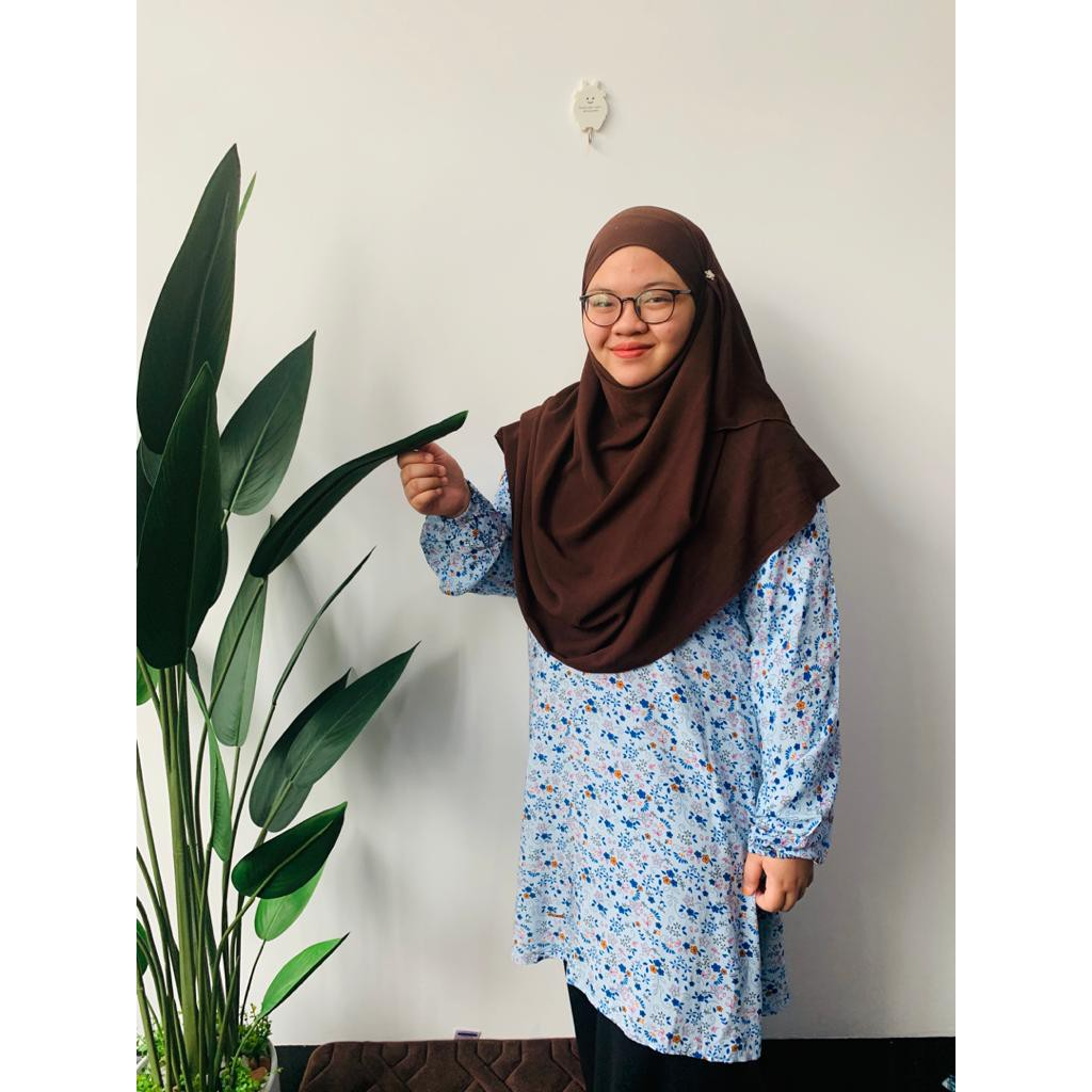 Plus Size Blouse Syurga Macam-Macam Design dan warna