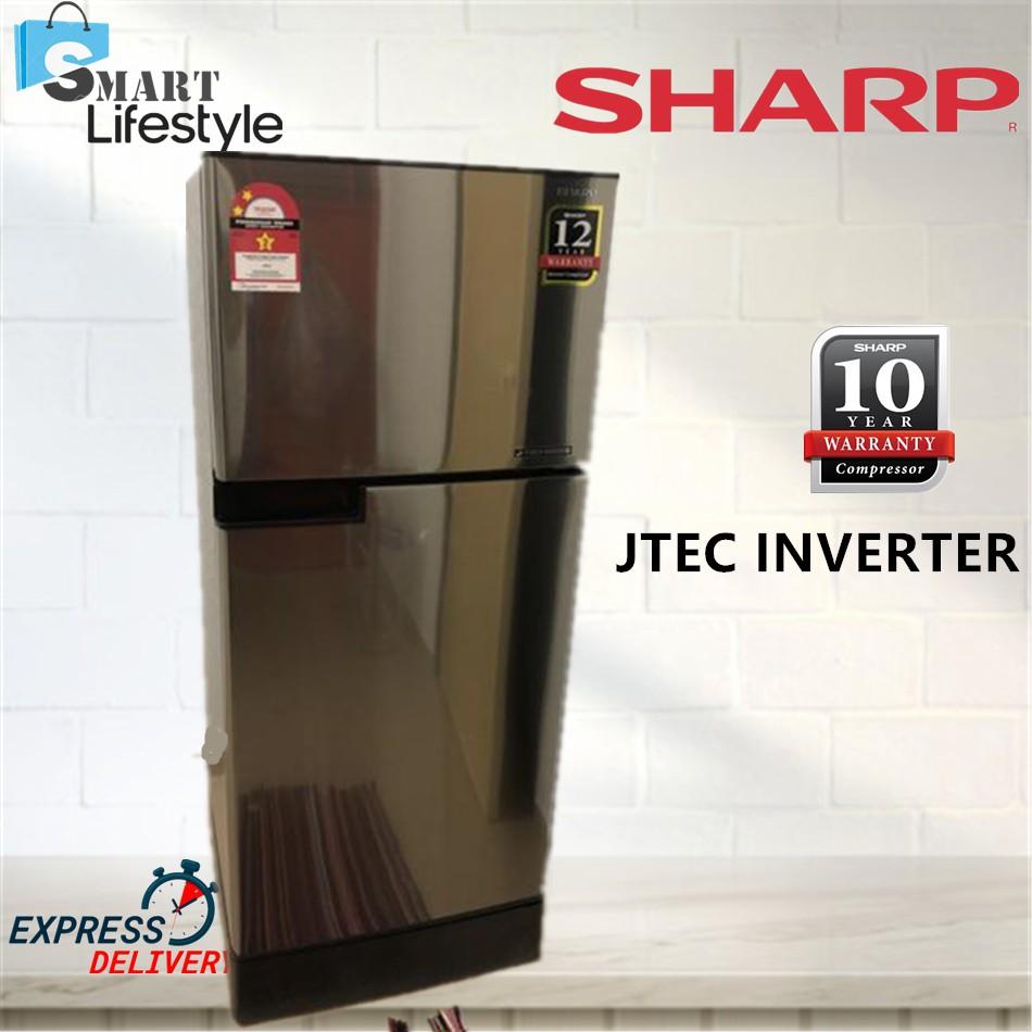 Refrigerator Sj189ms 170l Inverter