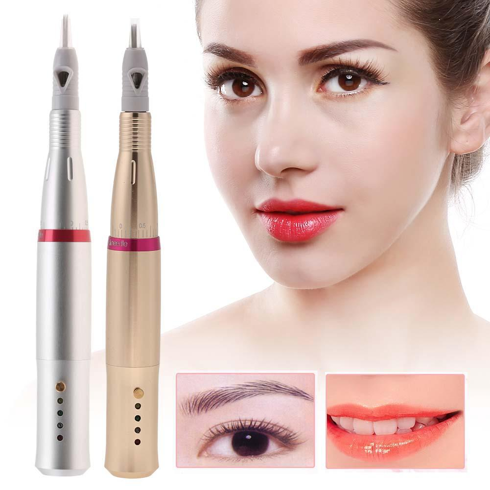 Permanent Makeup Charmant Machine Eyebrow Eyeline Embroidery Tattoo Needle Set | Shopee Malaysia