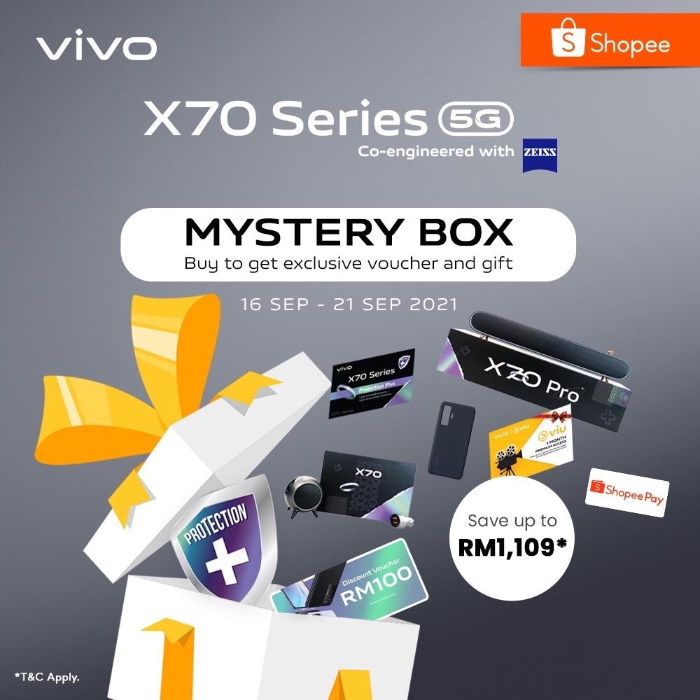 vivo X70 Series Blind Pre-order Mystery Box [16 - 21 September]