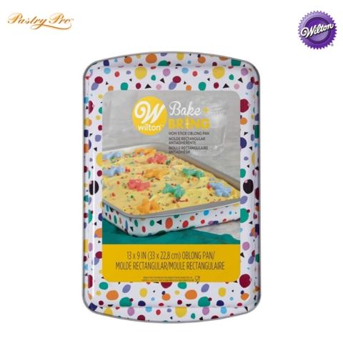 Peachy Wilton Bake Bring Baking Pan Oblong 9 X 13 Shopee Malaysia Personalised Birthday Cards Cominlily Jamesorg