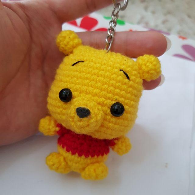 Crochet Amigurumi Winnie The Pooh Free Patterns | Crochet bear ... | 640x640