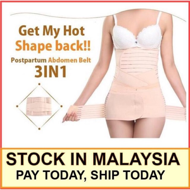 43d94076b1dea Body Shaper Waist Trimmer Postpartum Support Belt Bengkung Modern Corset  Girdle