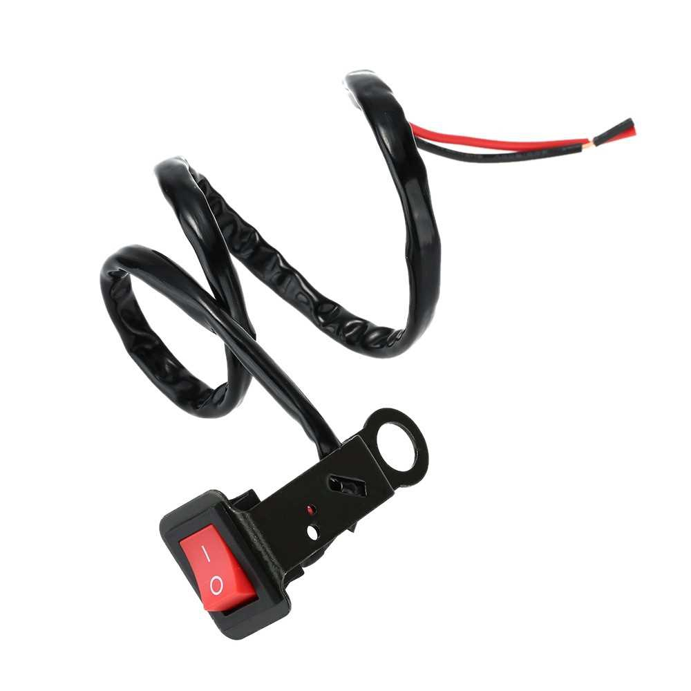 Universal Motorcycle Electric Bike On / Off Power Control Switch Headlight DIY