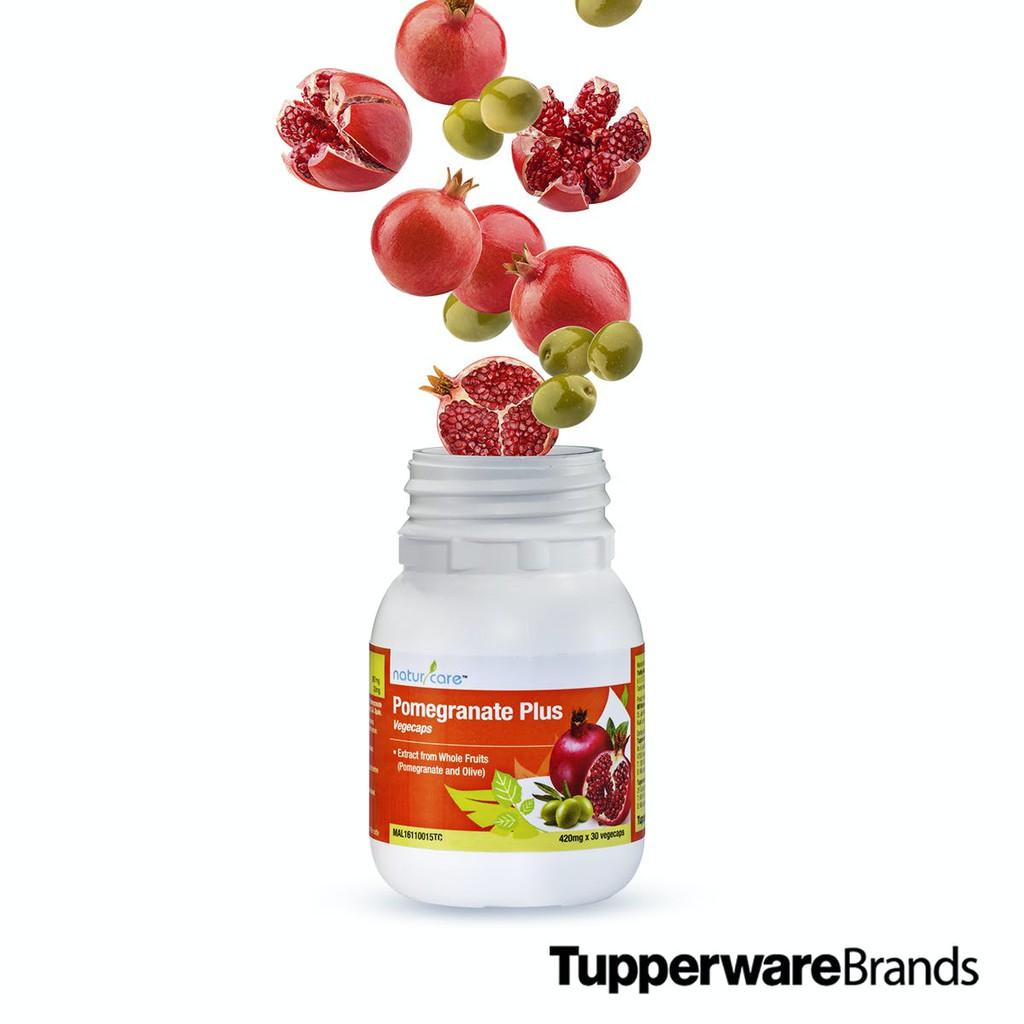 Tupperware NaturCare Pomegranate Plus Olive (1 Bottle) 30 Vcaps