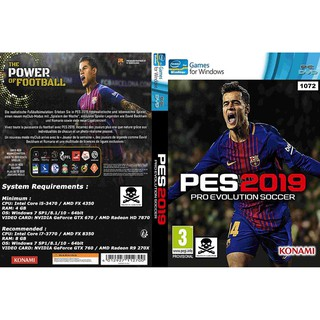 PC) Pro Evolution Soccer 2019 / PES 2019 (PTE Patch 3 1 Added