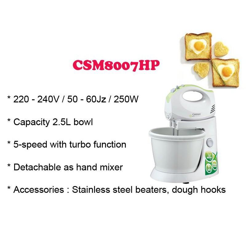 250W 2.5L Cornell Stand Mixer CSM-8007HP