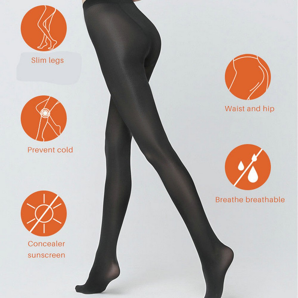 0194cebc4 Super Elastic Stockings Nylon Magical Tights Shaping Pantyhose 2017 Women
